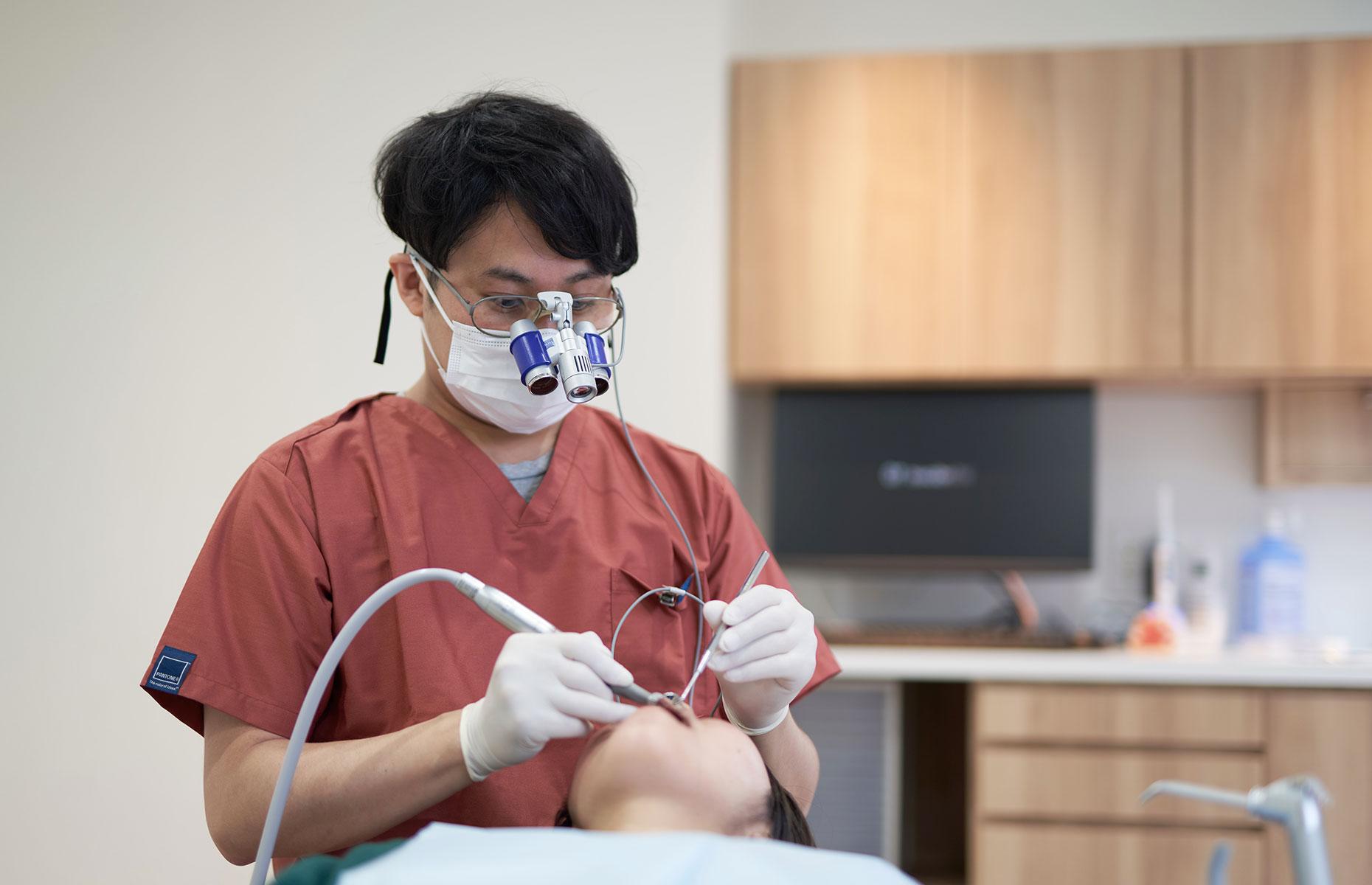 患者さまの大切な「歯」を守る
